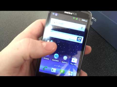 ZTE Anthem 4G LTE Hand's On Review Metro PCS