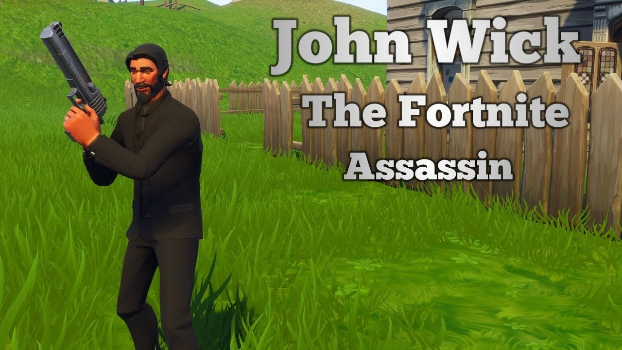 The Fortnite Assassin (John Wick Montage)