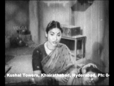 Nidurapora Thammuda - Santhanam (1955) - Lata Mangeshkar, Ghantasala