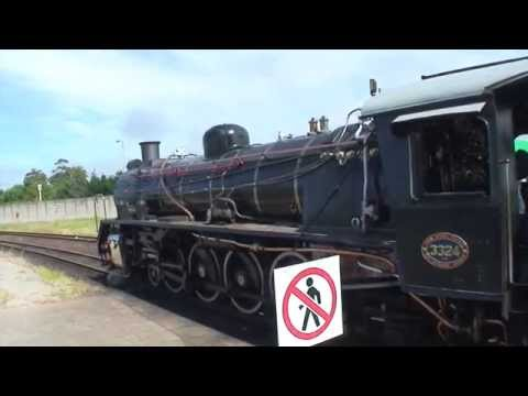 """Vintage Train Rides: """"Outeniqua Choo Tjoe"""" George to Mossel Bay, South Africa"""