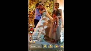 Свадьба Жени Кузина и Саши Артёмовой Женя и Саша плачут