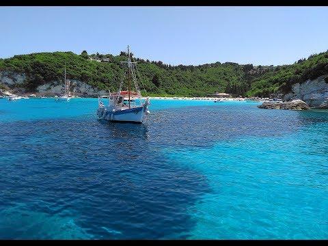 Paxos - Antipaxos boat trip with  Vicky FII