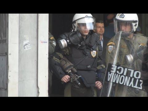Athens Polytechnic uprising[HD]