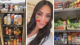 Kim Kardashian's Refrigerator Is INSANE -- Tour Her Kitchen!