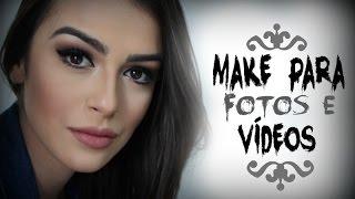 Maquiagem para fotos e vídeos por Mariana Saad