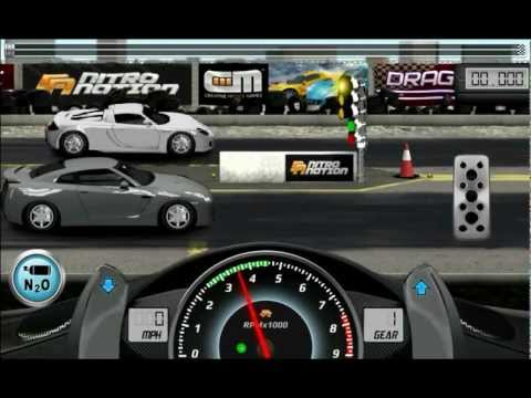 Drag racing boss level 5(how to beat) w/ commentary