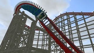 analysis of storm chaser new at kentucky kingdom in 2016 rmc steel coaster