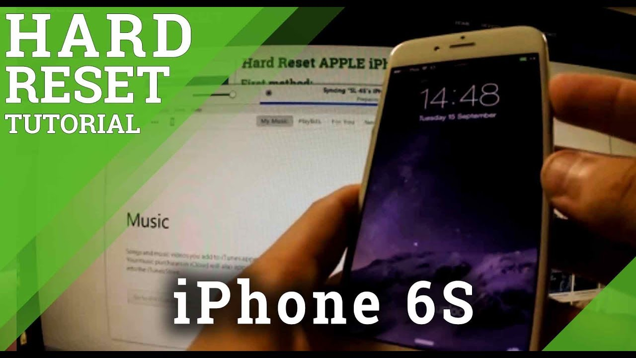 Hard Reset APPLE iPhone 6S - How to restore your iphone