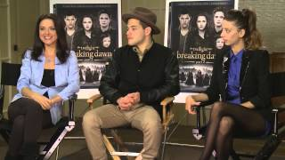 Twilight's Andrea Gabriel, Rami Malek, and Angela Sarafyan on Sidewalks Entertainment