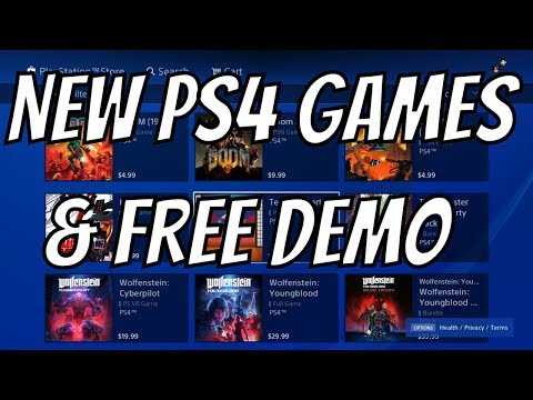 New PS4 Games - Free PS4 Game Trail - PS4 Demo