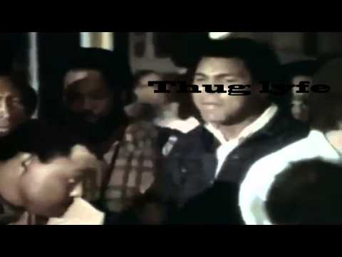 Sonny Liston shoots at Muhammad Ali THUG LIFE