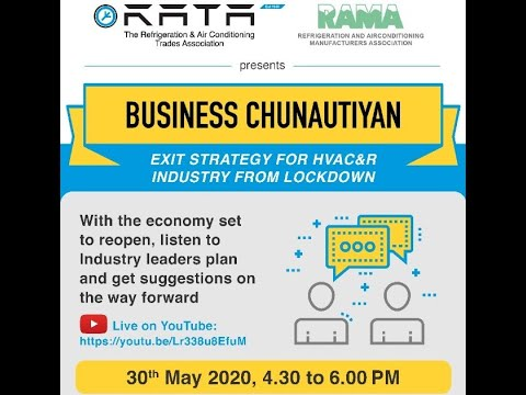 Business Chunautiyan Exit Strategy for HVACnR Industry from  Lock down