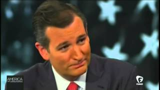 TED CRUZ ON MARRIAGE LAWS, SEGMENTS FROM AMERICA WITH JORGE RAMOS