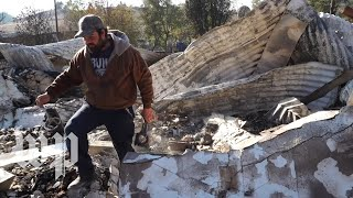 Father and son describe watching their homes burn down in the Kincade Fire