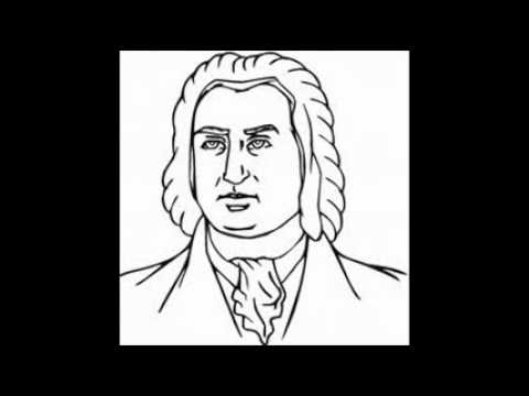 J. S. Bach -- Fugue For Lute In G Minor -- BWV 1000