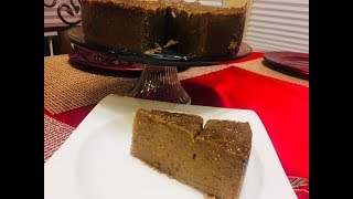 Jamaican cornmeal pudding recipe