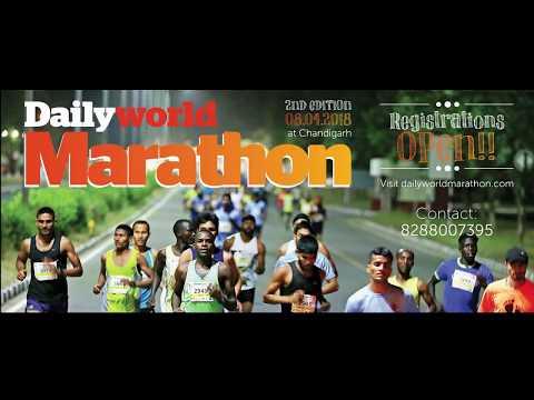 Amar Singh Chauhan - record shattering Marathon runner on Daily World Marathon