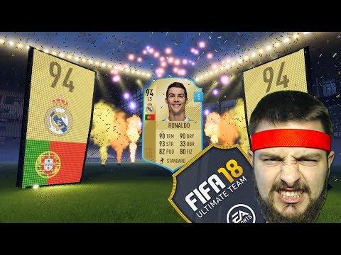 DOSTAŁEM RONALDO W PACZCE! :O  - FIFA 18 FUT #1 [PL/HD]