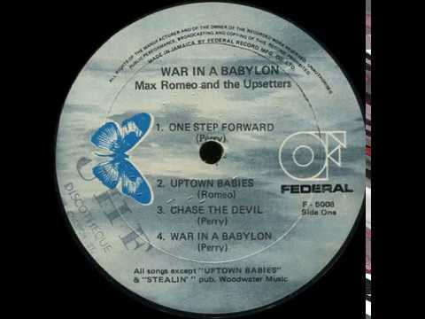 Max Romeo And The Upsetters - Uptown Babies Don't Cry [Federal Records 1976]