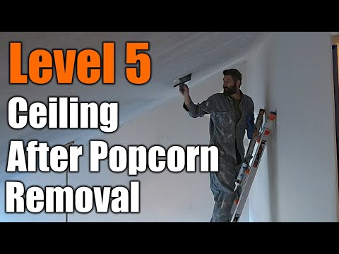 perfectly-smooth-ceiling-after-popcorn-removal-|-level-5-|-the-handyman-|
