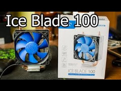 видео: Обзор кулера  deepcool ice blade 100🖥