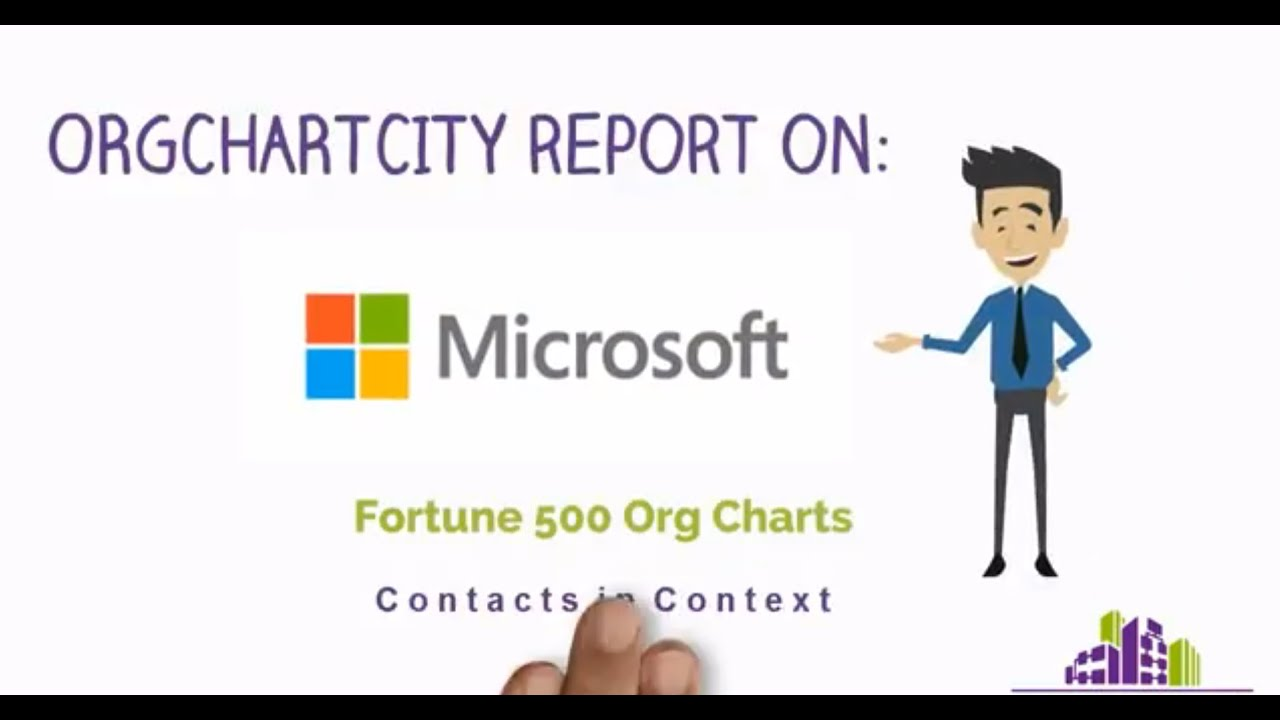 Microsoft Organizational Structure & Contact Information - YouTube