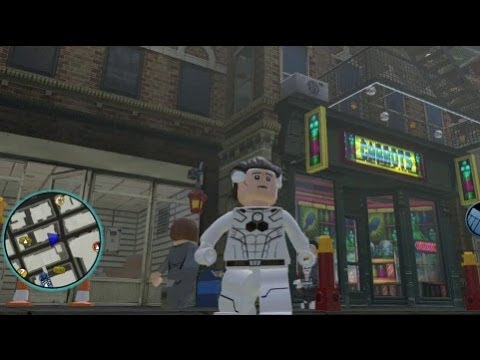 LEGO Marvel Super Heroes - Mister Fantastic (F.F.) Unlocked + Free Roam Gameplay