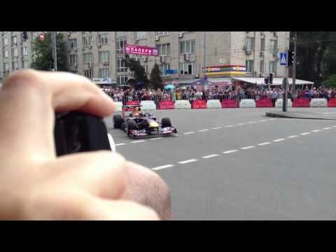 F1 Red Bull Team in Ukraine, Kiev