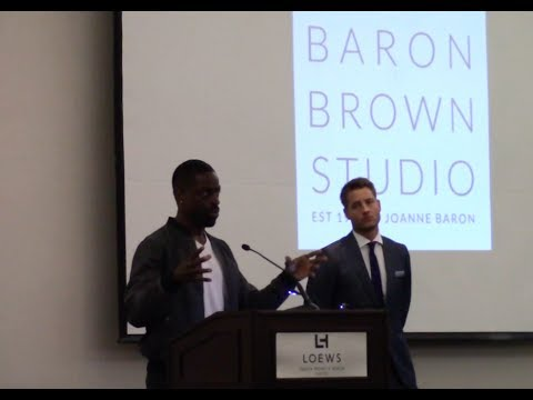 Sterling K. Brown talks about Justin Hartley