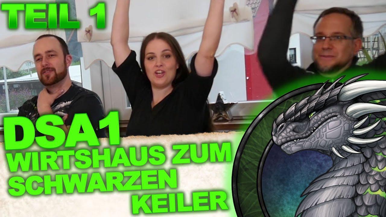 DSA1: Im Wirtshaus zum Schwarzen Keiler - Let's Play Teil 1 von X (twitch-Mitschnitt)