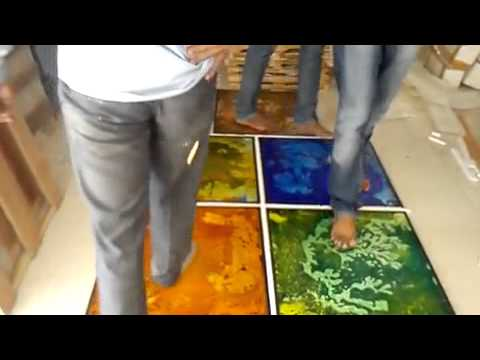 LIQUID FLOOR TILES IN INDIA MORBI GUJRAT 9099485033 - YouTube