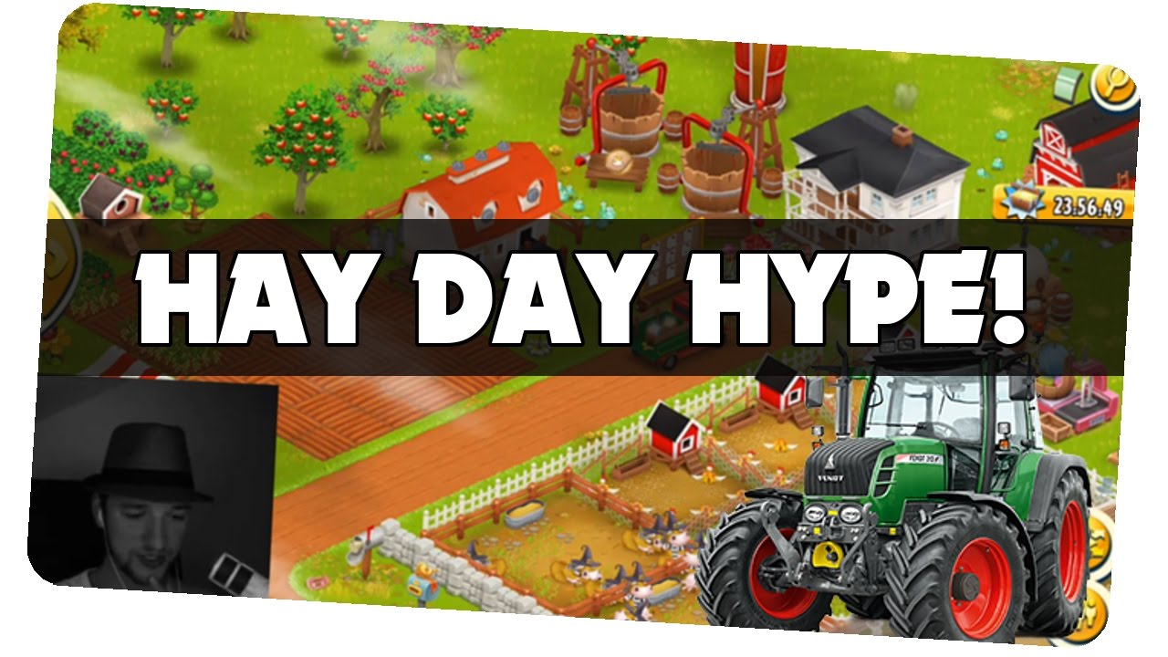 Hay Deutsch Robbe Der Farmer! || Hay Day [german/deutsch Ios Android