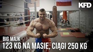 BIG MAJK: 123 kg na wadze, HMB, martwe ciągi 250kg! - KFD 2017 Video