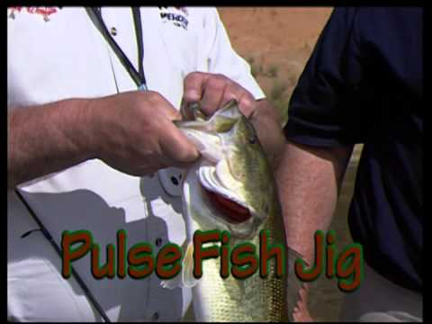 """The PULSE FISH JIG - Imparts """"Life Like"""" action to all trailer bodies"""
