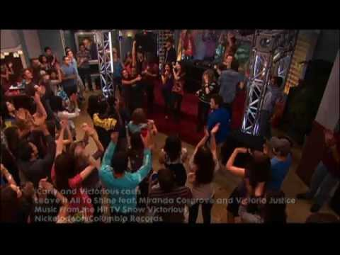 """iCarly & Victorious Casts: """"Leave It All To Shine"""""""