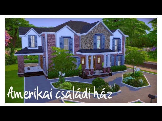 The Sims 4: Amerikai családi ház