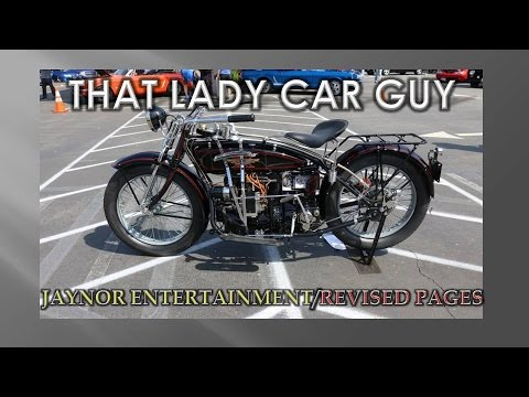 1926 Henderson  Deluxe (Mostly Original)  - Motorcycle Mondays 15 - That Lady Car Guy