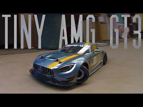 Living Room Drift Car   MST RMX 2.0 Mercedes Benz AMG GT3