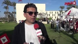 عمرو رمزي قبل الكلاسيكو: واثق من فوز برشلونة وزعلان من ميسي (اتفرج)