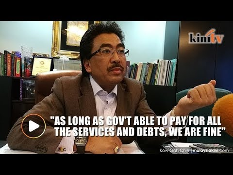 Johari: If they give us finance to build infrastructure now, why not?
