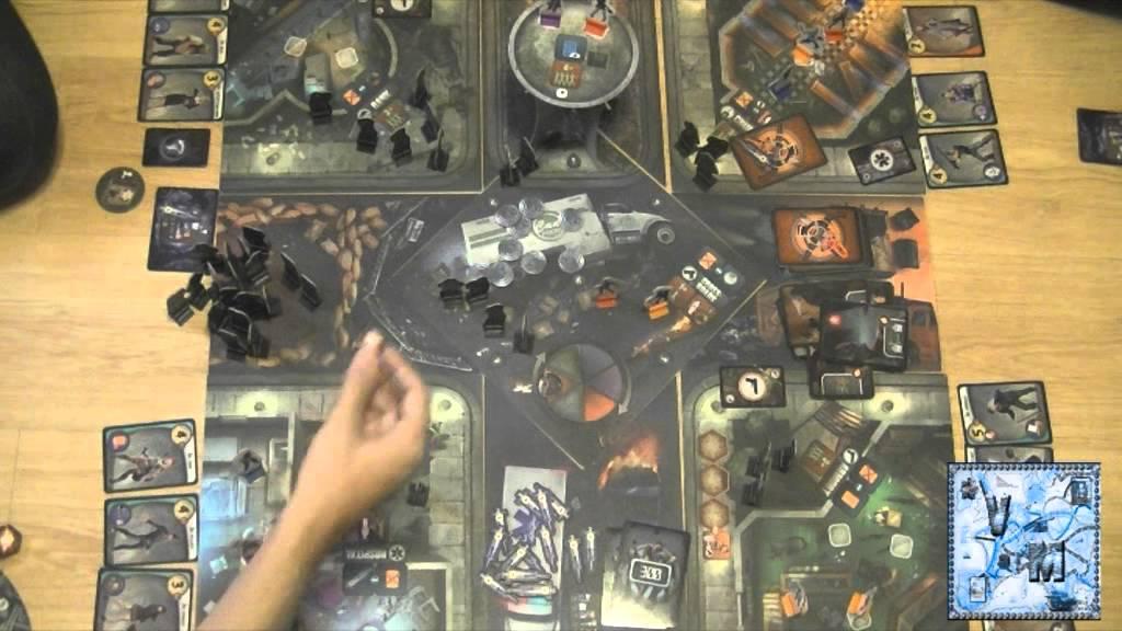 City of horror juego de mesa gameplay youtube for Viciados de mesa