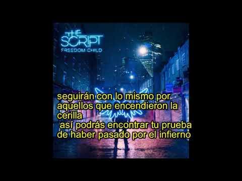 The Script - Written In The Scars subtitulada español