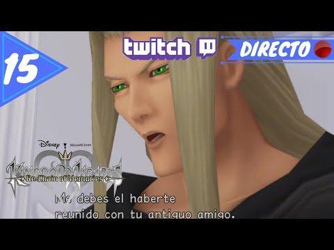 VEXEN - Kingdom Hearts : RE: Chain of memories HD #15 PS4 [DIRECTO]