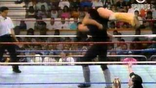 1991 08 03 Superstars   Undertaker vs Brian Jewel
