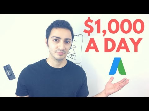How to Make $1,000/Day In Affiliate Marketing Using Google Adwords