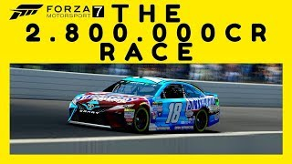Forza 7 |the 2.800.000 cr race! how to get money fast [vip]