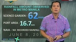 SONA: Weather update as of 9:14 p.m. (June 08, 2015)