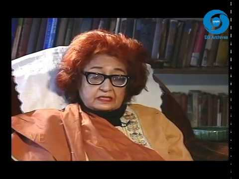 Qurratulain Hyder | Indian Urdu Novelist | Jewels of Indian Literature | Director - Madhulika