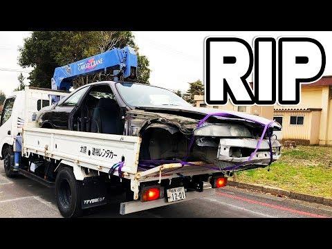 RIP MIDNIGHT PURPLE R33 SKYLINE!