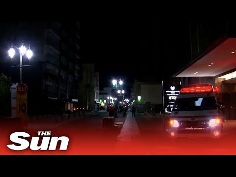 Japan Earthquake:  Powerful 7 Magnitude Quake Strikes Off Coast Of Fukushima